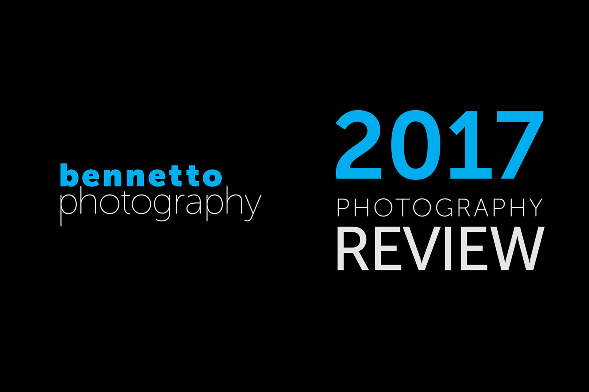 Photography review 2017