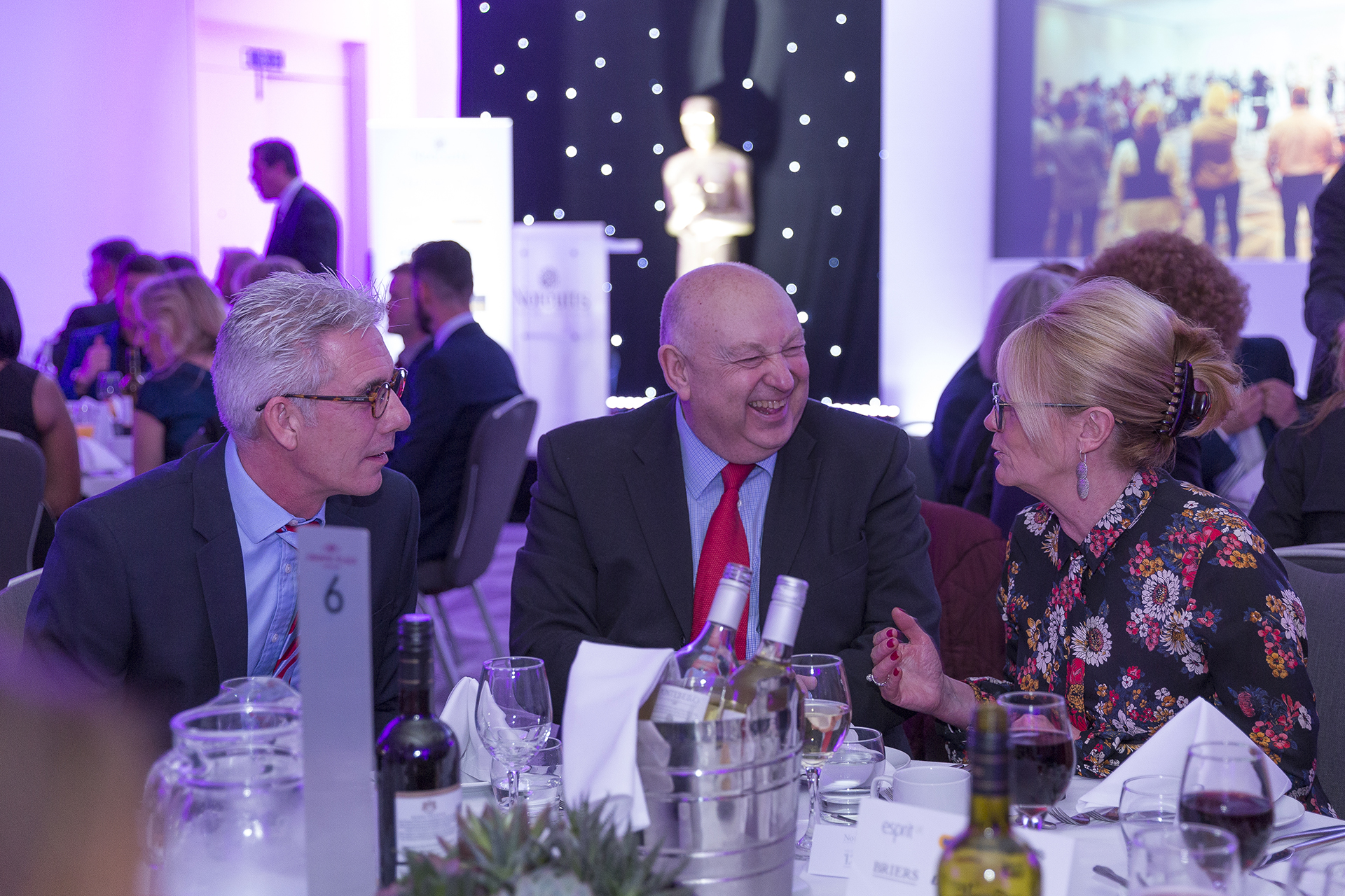 Notcutts event in Marlow : awards dinner