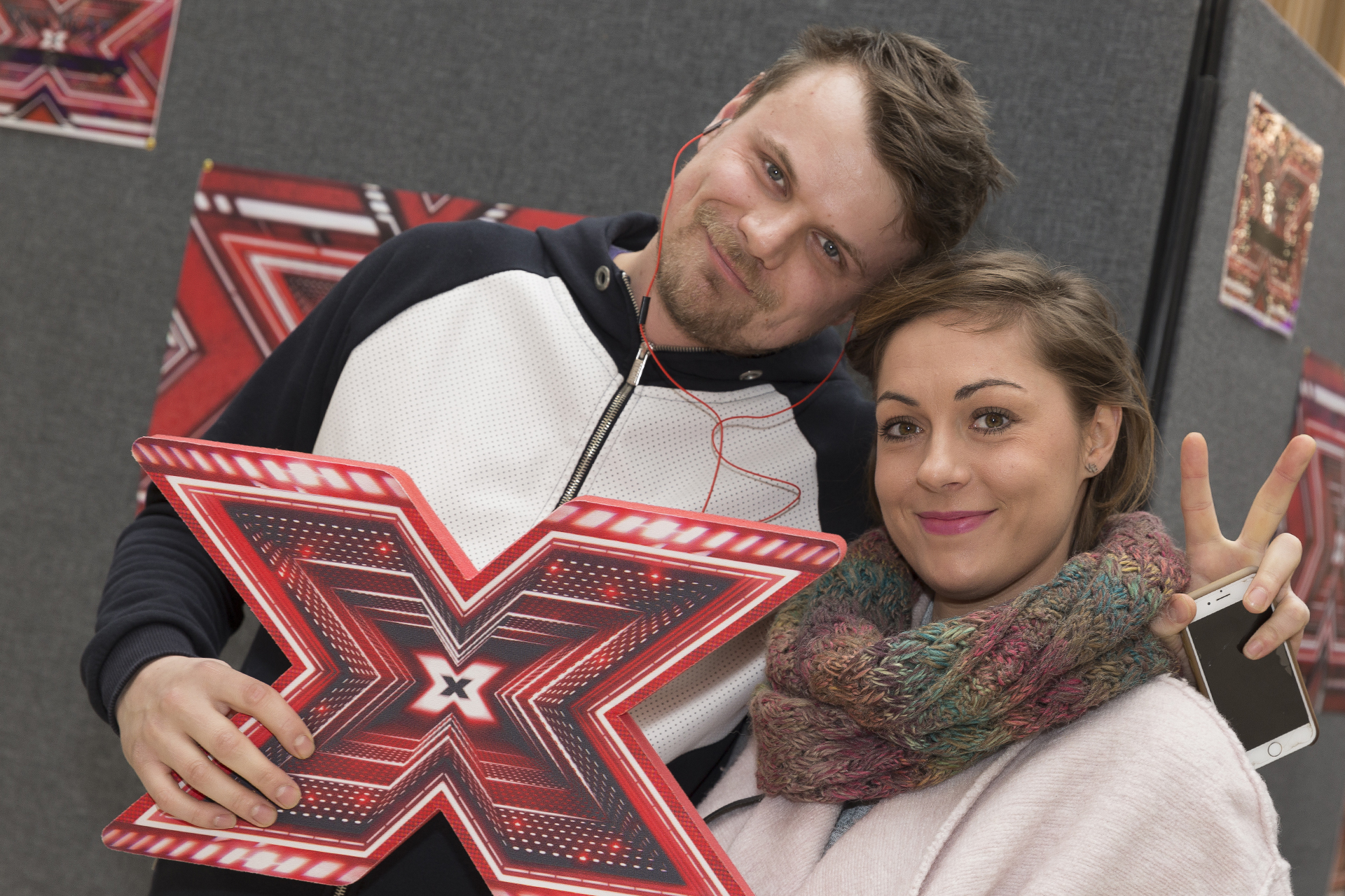 X Factor auditions at the Broad Street Mall, Reading