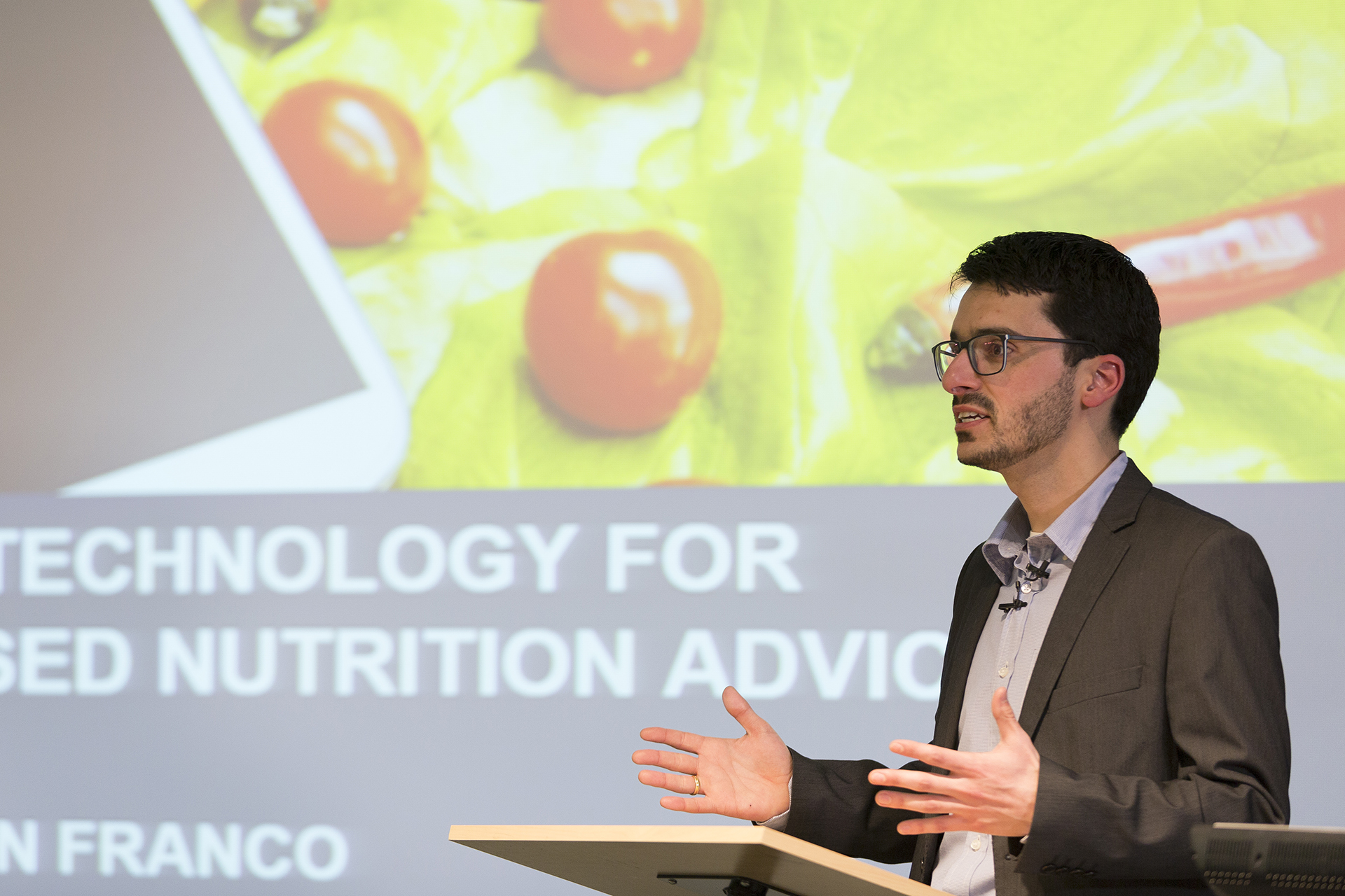 Rodrigo Zenun Franco delivering the Fairbrother Lecture 2018