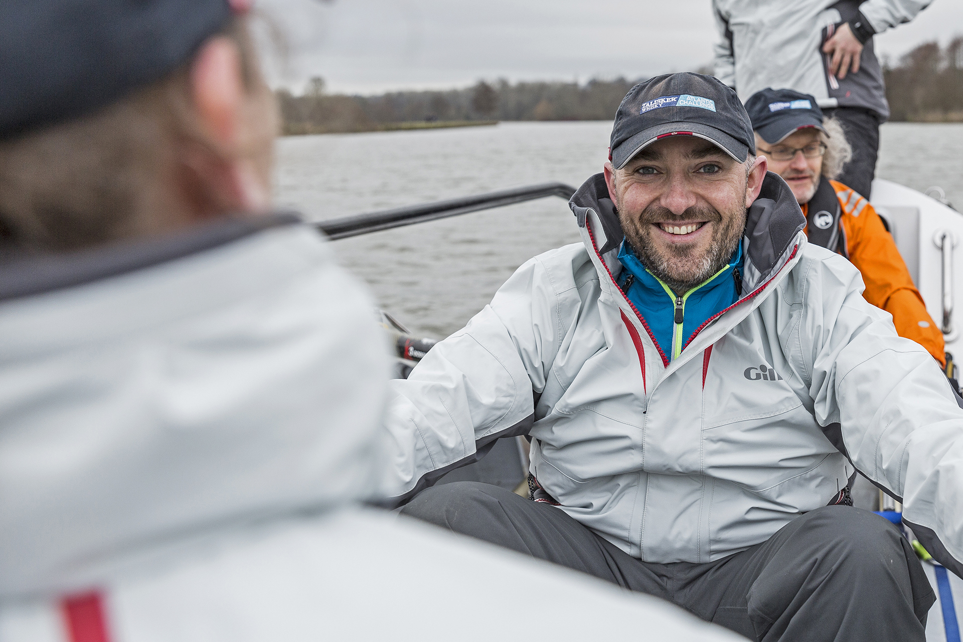 Heads Together and Row team on the River Thames: Toby