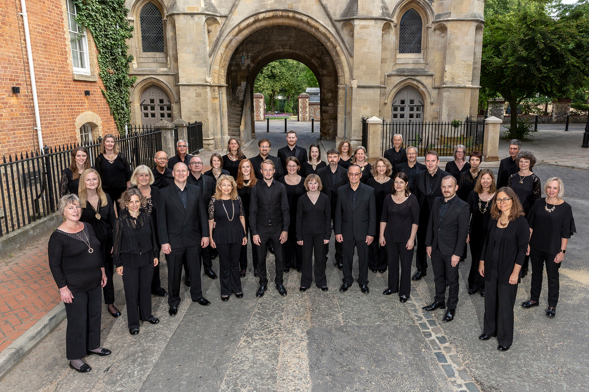 Reading Phoenix Choir group photograph